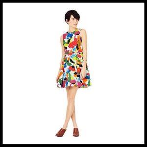 Kate Spade Saturday Pleated Flare Dress